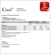 Levies for The Caves Houses